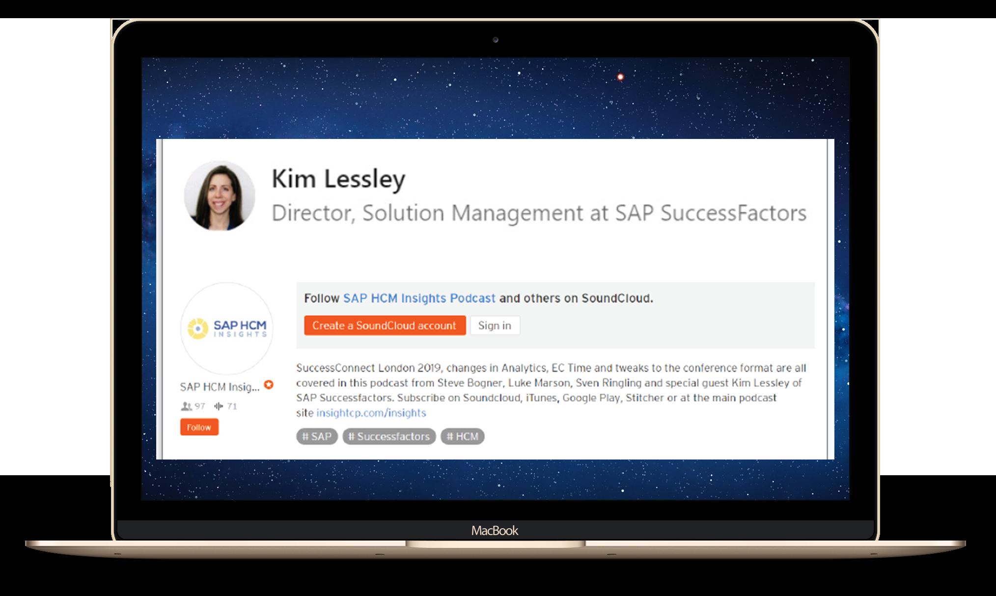 Kim Lessey SAP SuccessFactors