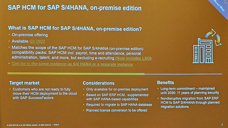 SAP makes changes to Payroll offerings