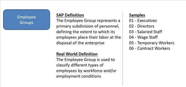 SAP HCM Reporting Employee Groups