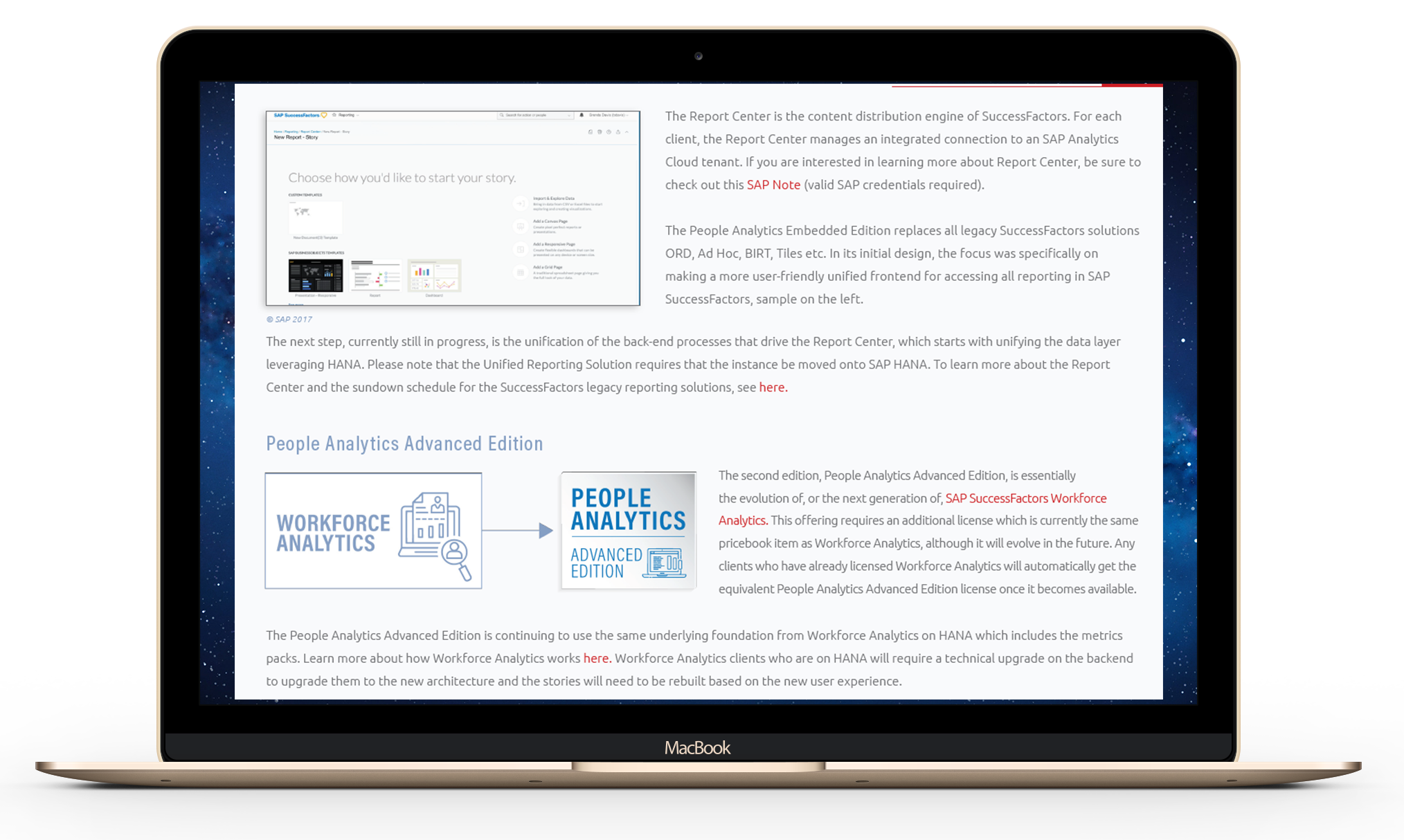 People Analytics - three solutions - Advanced