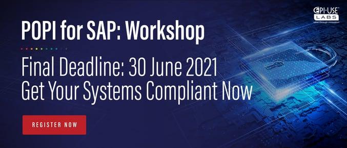 POPI for SAP workshop