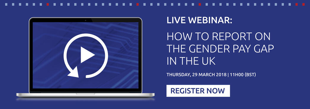 Live webinar: How to report on the Gender Pay GAP in the UK