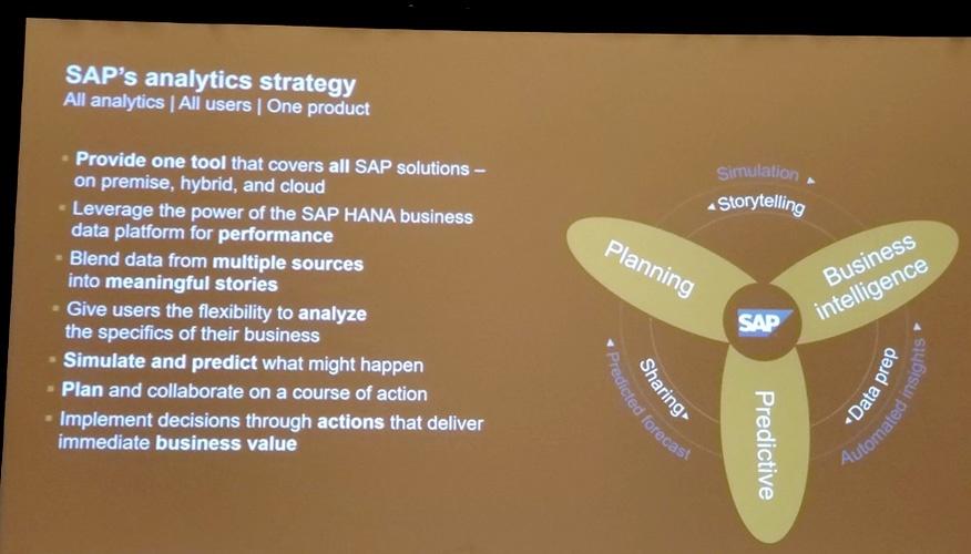 SAP Analytics Strategy