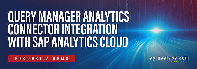 CTA_ Query Manager Analytics Connector Integration with SAP Analytics Cloud