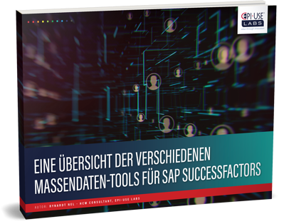 mass data tools for SAP SuccessFactors