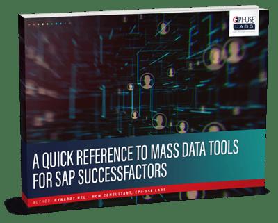 mass data tools for SAP SuccessFactors
