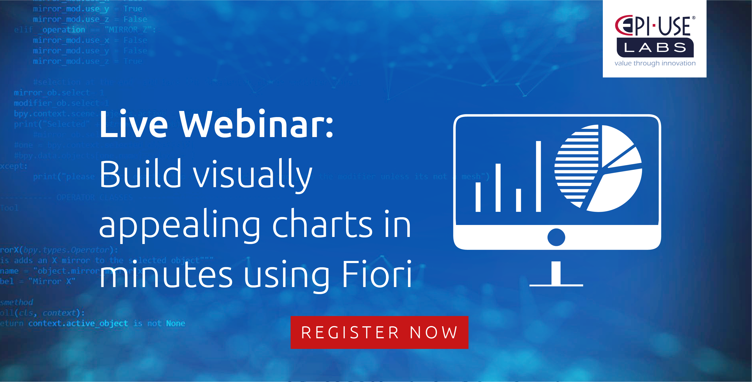 Build visually appealing charts in minutes using Fiori