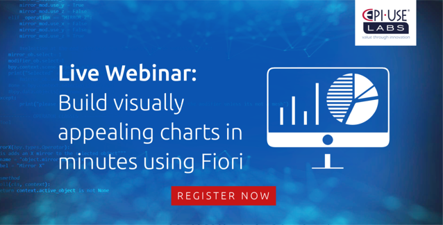 Build visually appealing charts in minutes using Fiori Live Webinar