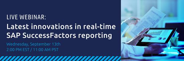 SAP SuccessFactors HCM Reporting