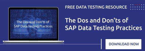 Download the SAP Data Testing Best Practices Cheat Sheet