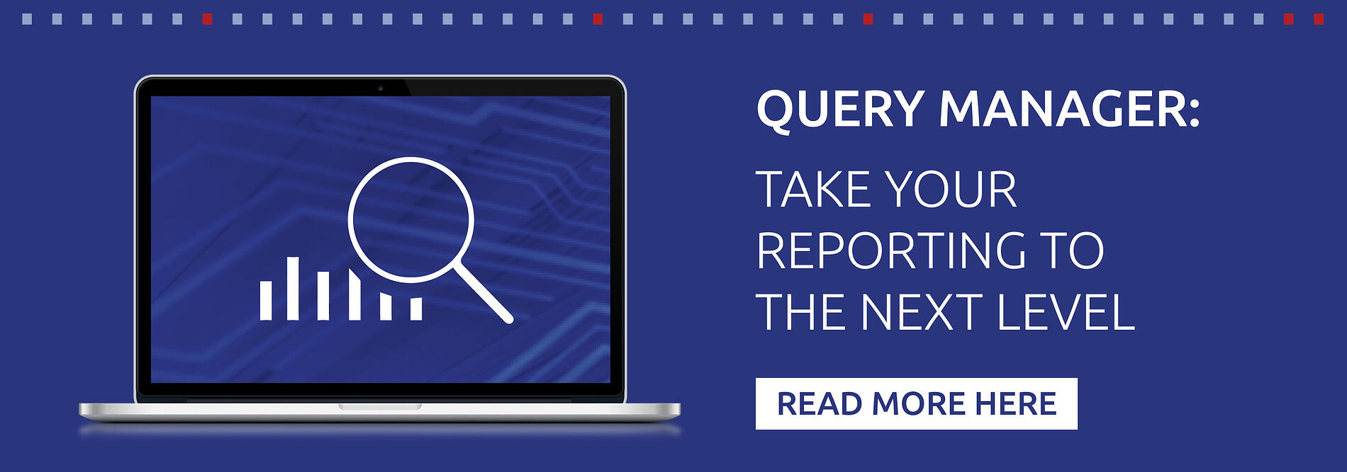 Query Manager: Taking your Reporting to the next level