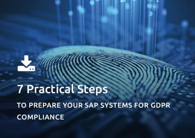 7  Practical Steps GDPR