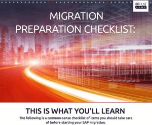 Migration Preparation Checklist