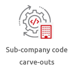 EPI-USE Labs offer Sub-company code carve-outs
