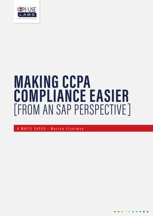 CCPA Compliance White Paper