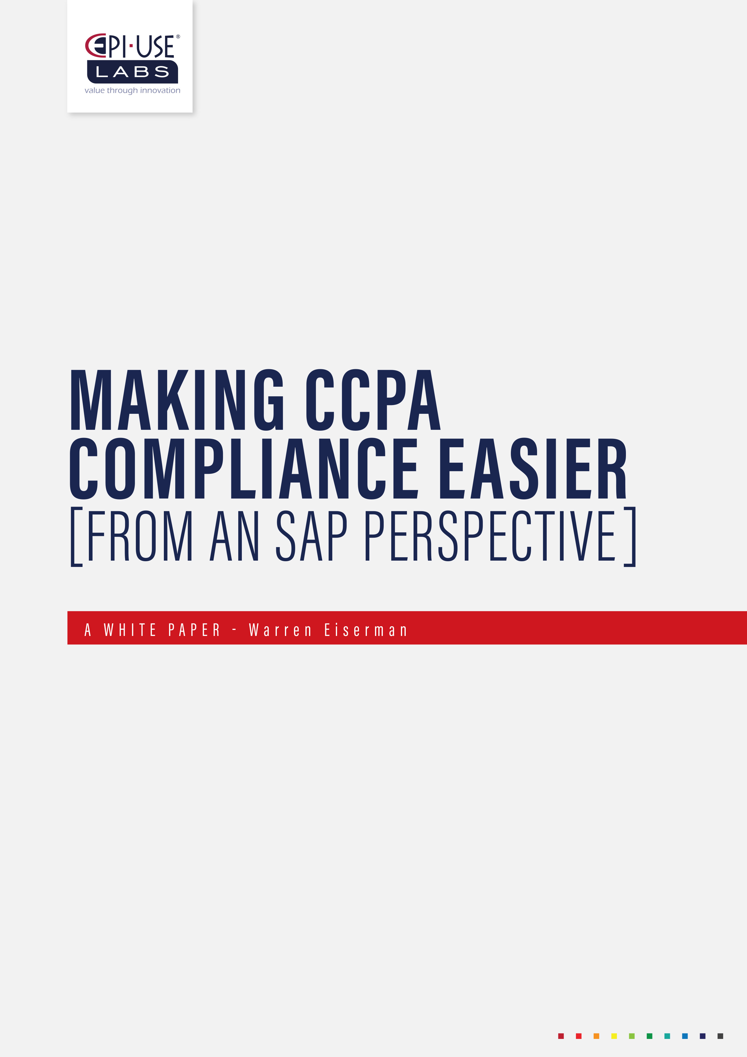 CCPA Compliance White Paper