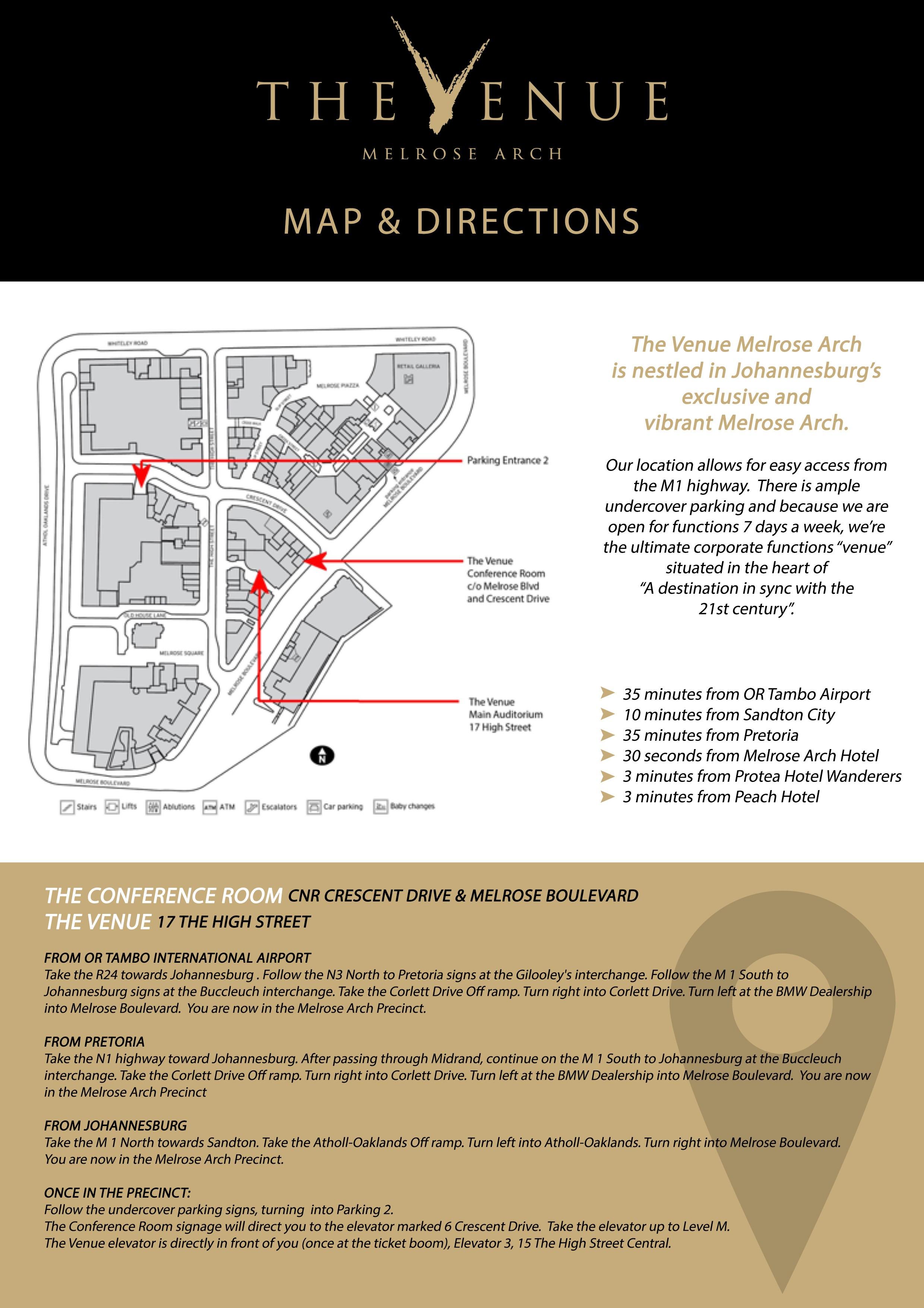The Venue - MAPS