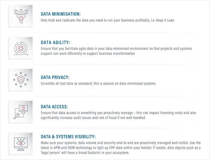 The five principles of Lean Secure SAP