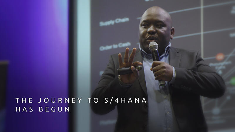 The Journey to S/4HANA has began