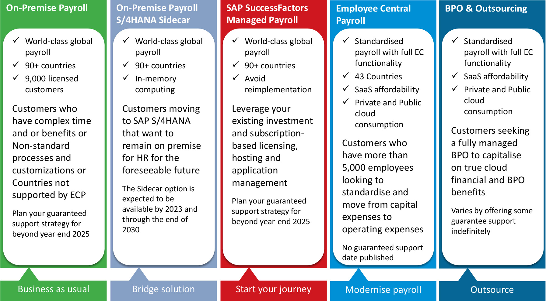 Options for Futrure Payroll Needs