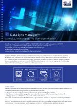 Data Sync Manager Broschüre