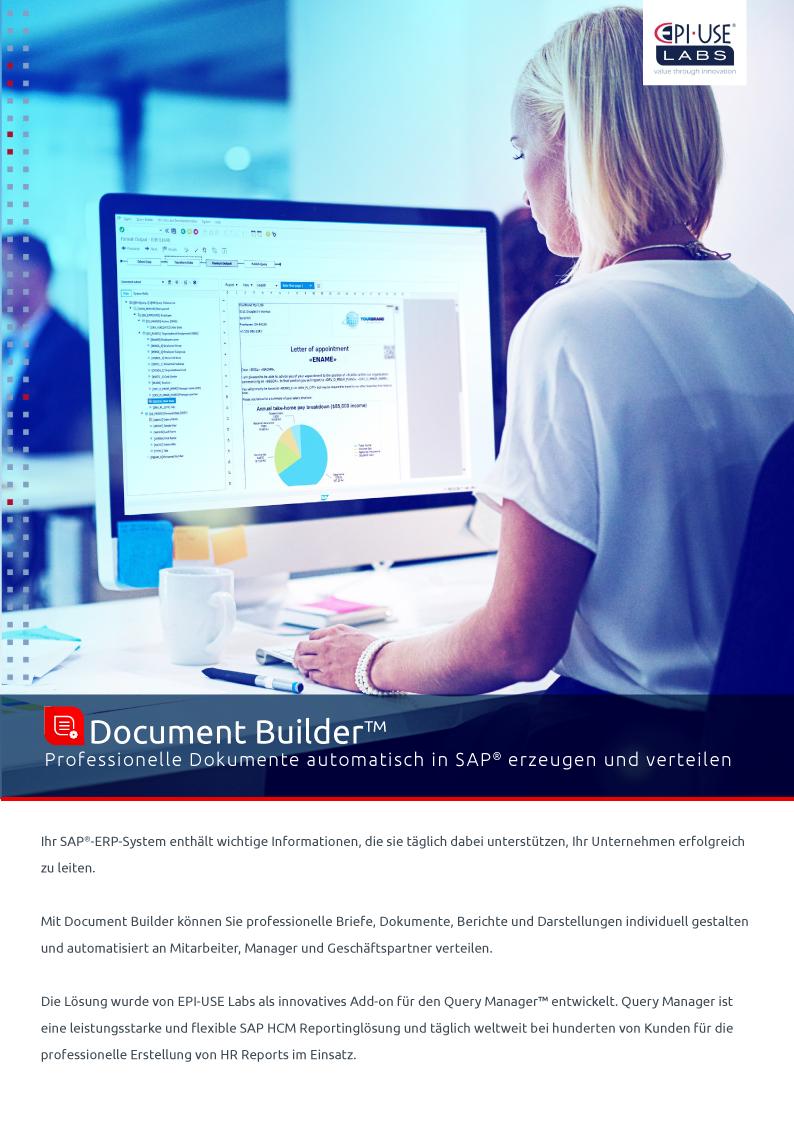 Document Builder™ Broschüre