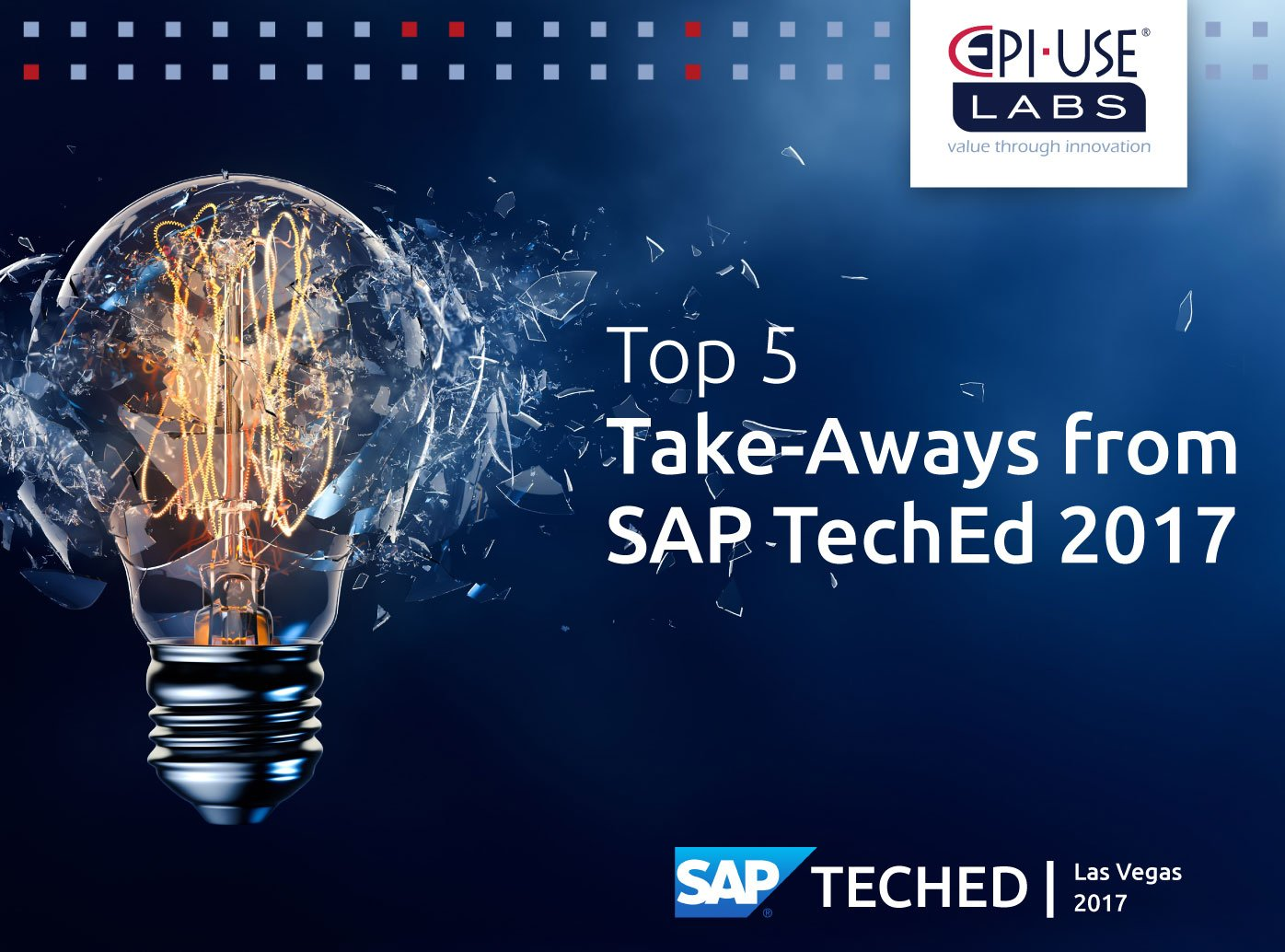Top 5 take-aways from SAP TechEd 2017