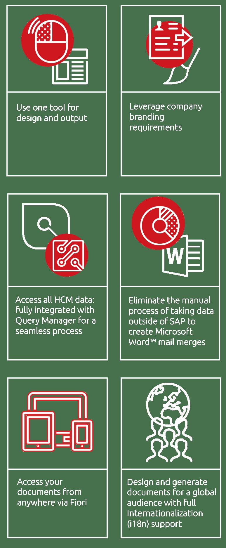 Document Builder Key Benefits
