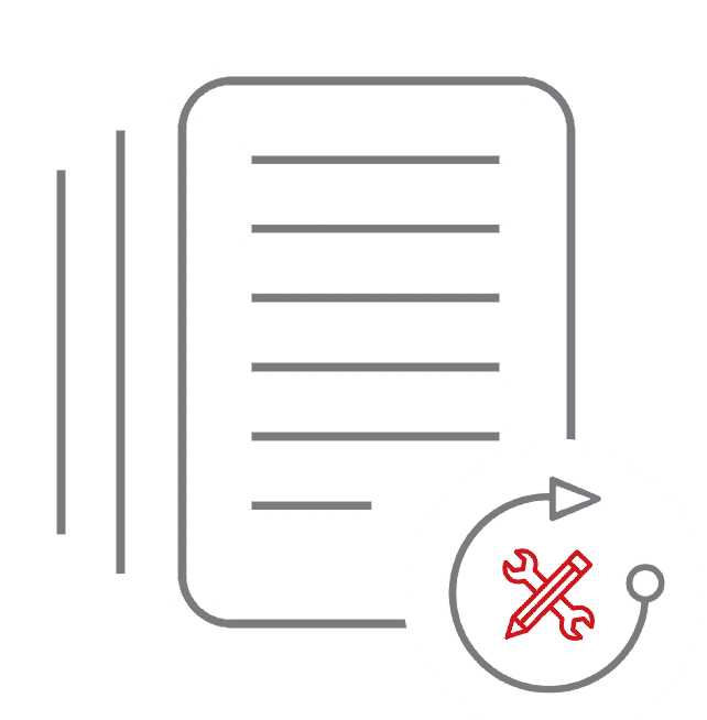 Créez de nombreux documents de qualité professionnelle en toute simplicité grâce à l'interface de conception visuelle riche et intuitive de Document Builder