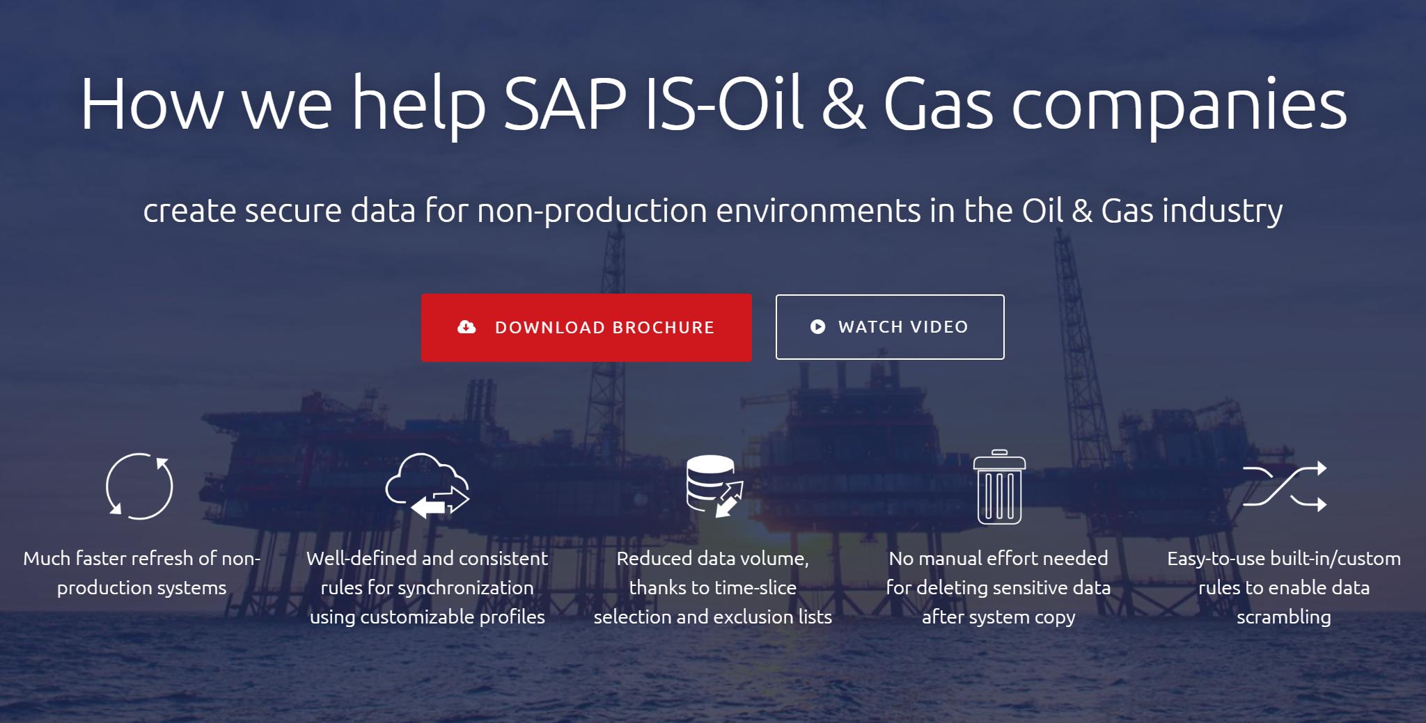 DSM: SAP for OIL & GAS
